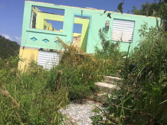 Still over 30 displaced seniors on island.