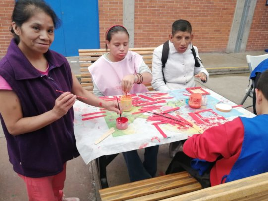 Handicraft activities