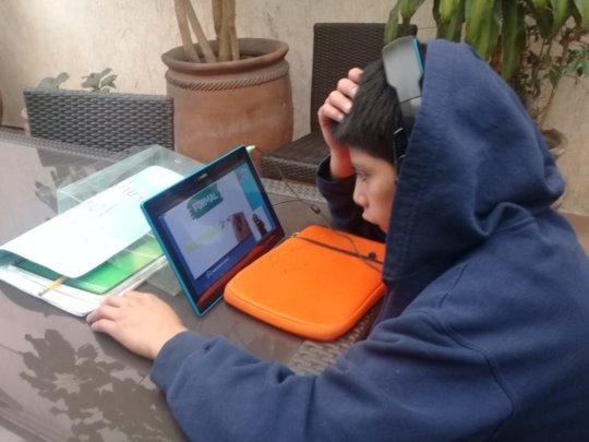 On-Line school