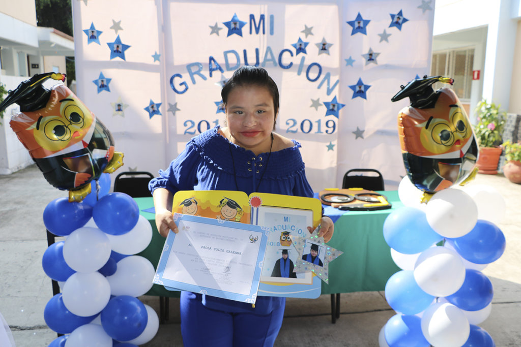 Paola Graduates from secondary school