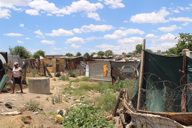 Diepsloot, an informal settlement in South Africa