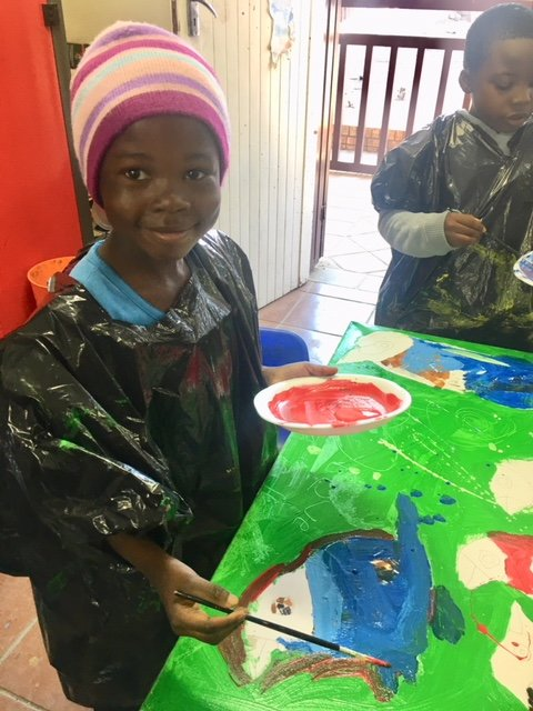 Art classes at our annual Holiday Programme