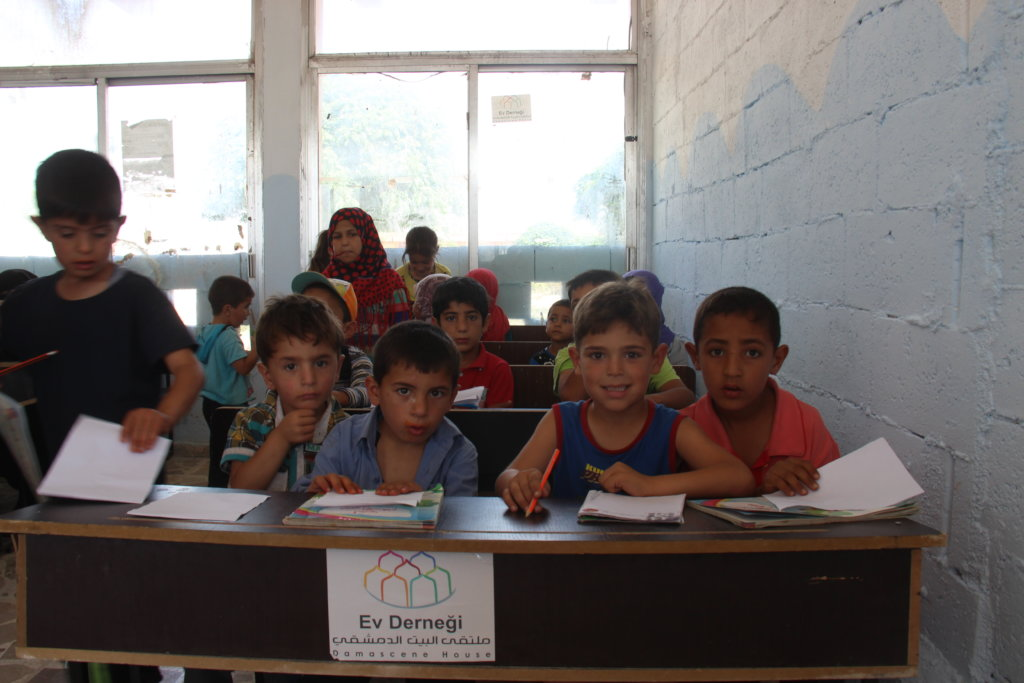 Send a Child to School in Syria