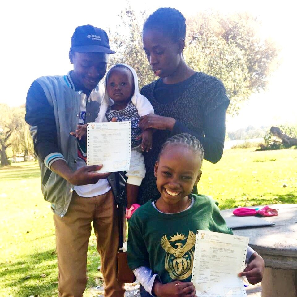 Save 50 children from statelessness in SouthAfrica