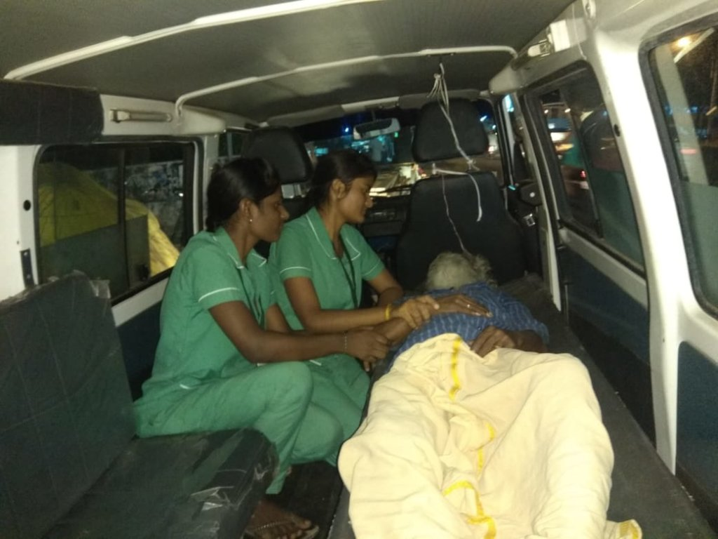 Rescue of Mr. Narayanasamy - 1