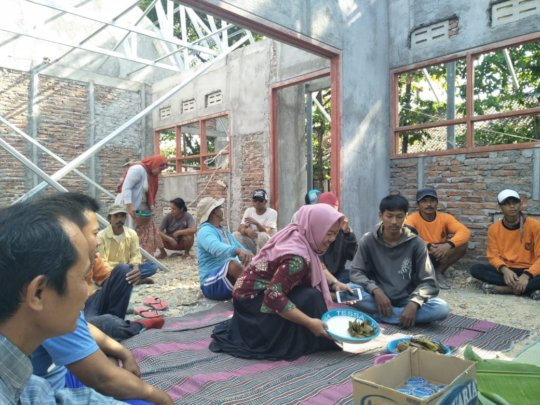 Traditional Ceremony for safety of the Labourer
