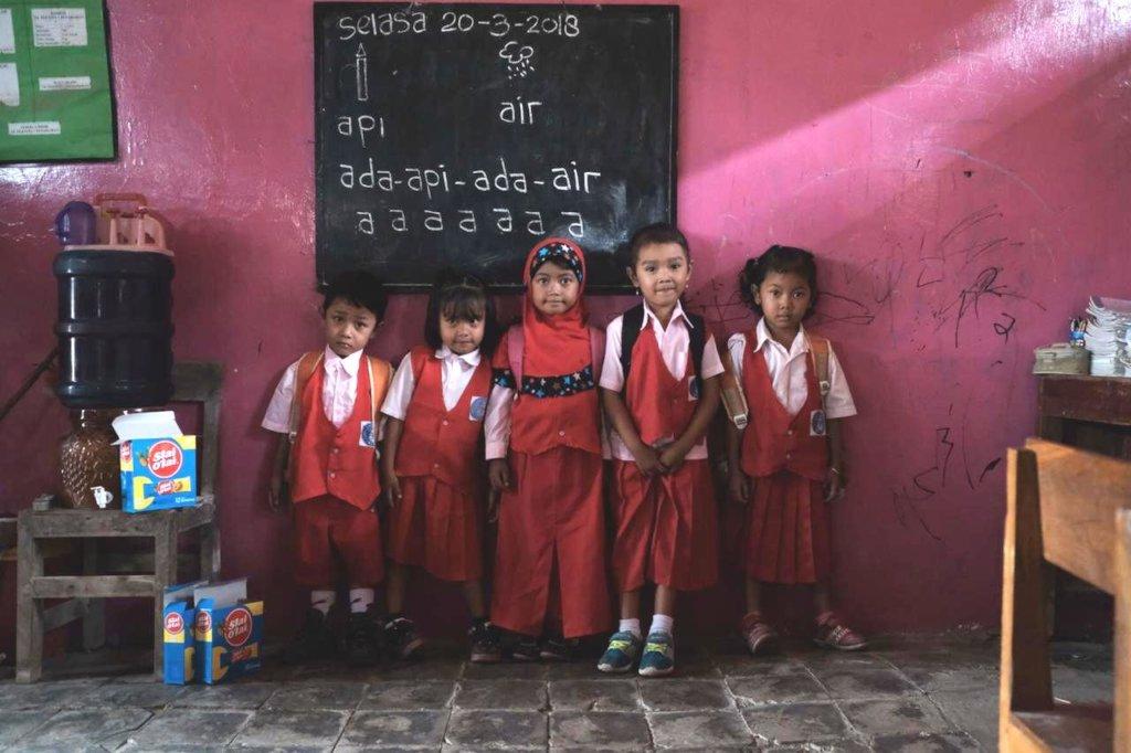 Build Child Friendly School in Indonesian Village