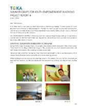 TOKA - Summer Camps Project Report 4 (PDF)