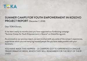 TOKA Project Report 2 (PDF)