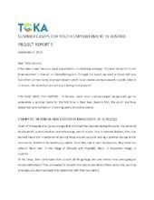 TOKA - Summer Camps Project Report 5 (PDF)