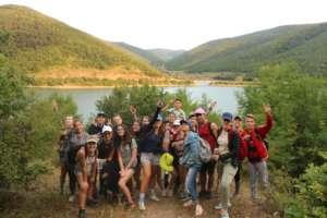 Camping outdoor - Badovc lake