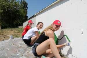 Serving the community through volunteer work