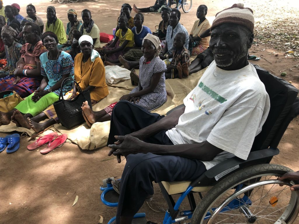 Build a Disability Centre in Uganda Refugee Camp
