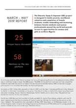 EEE Mar-May 2019 Progress Report (PDF)