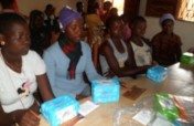 Menstrual hygiene for 1000 Cameroon villagers