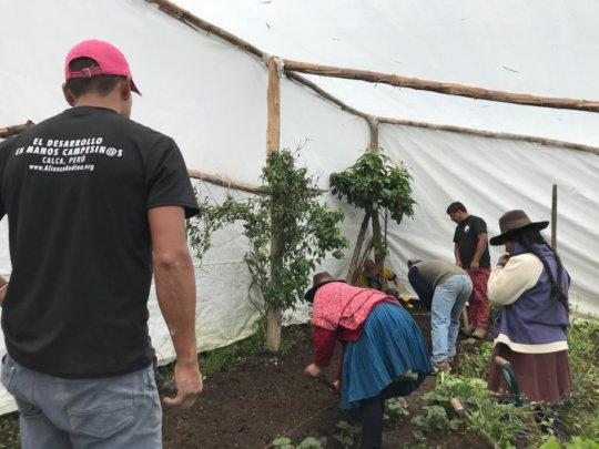 Greenhouse Workshop in Pampacorral