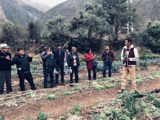 Ministries of Agriculture visit the farm