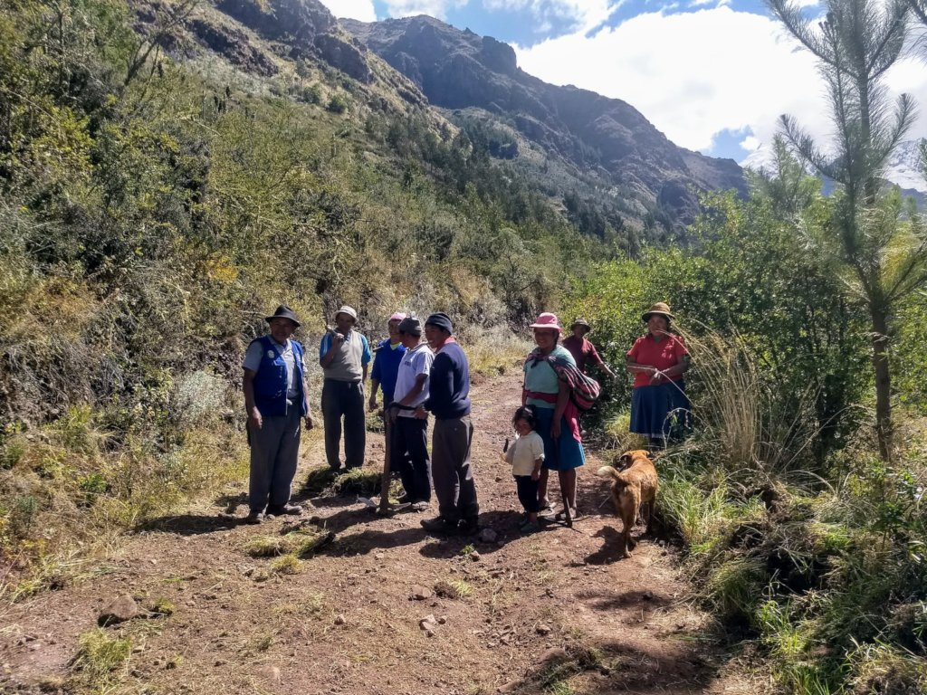 Sustainable livelihoods for rural Andean farmers
