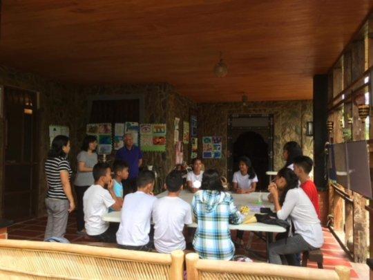 FPVI students assist Japanese researchers
