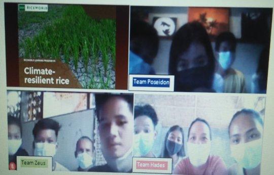 Game-based Virtual Visit to RiceWorld