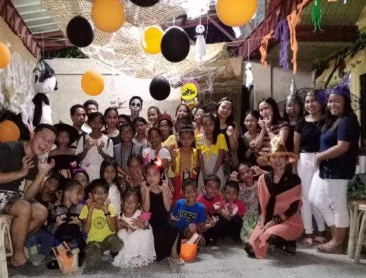 Halloween Group Photo