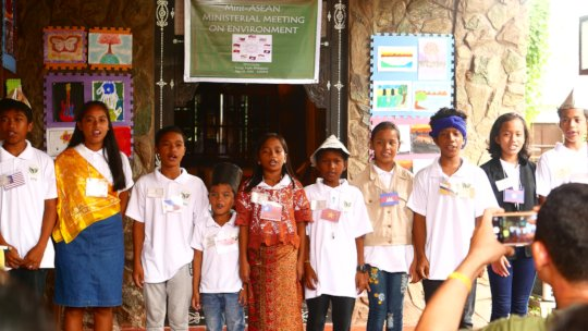 Mini ASEAN Meeting Role Play Participants