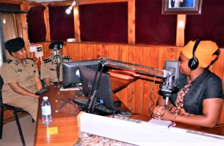 Radio interview with Ugandan police spokesperson