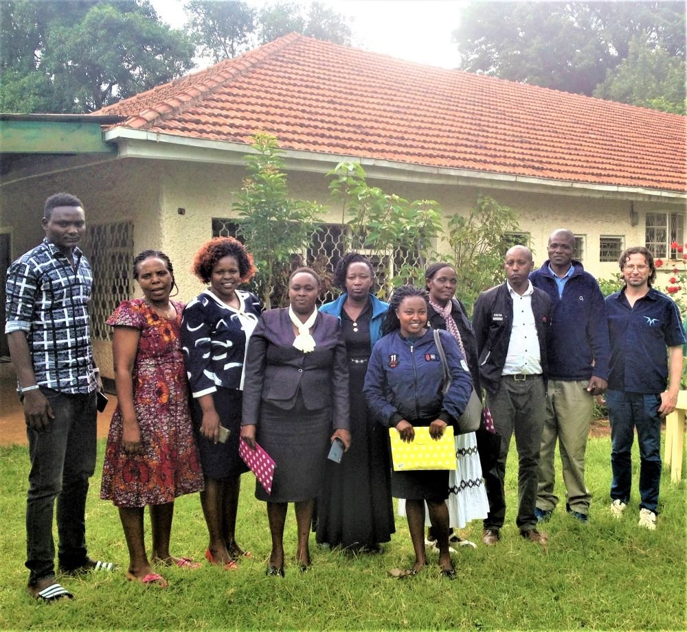 Child Rights Club Workshop attendees, Kitale