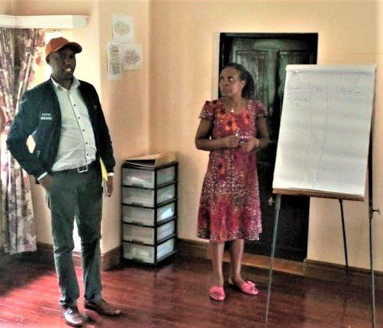 Child Rights Club workshop, Kitale, Kenya