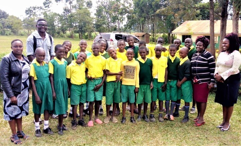 New Child Rights Club in Grasslands school, Kitale