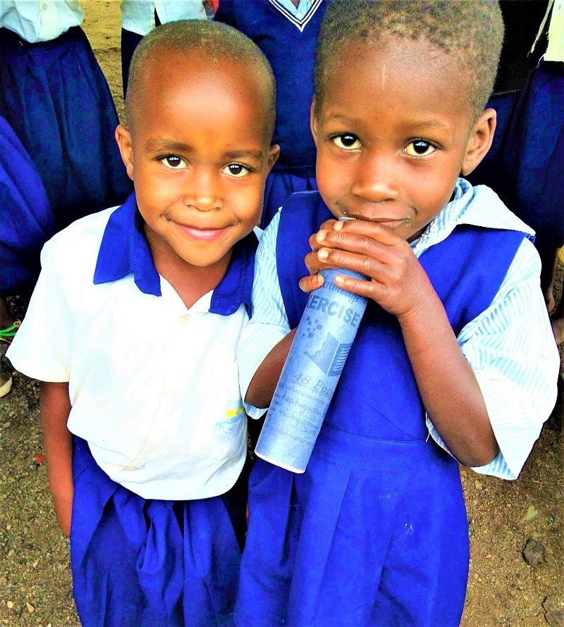 Two Positive Discipline Programme students