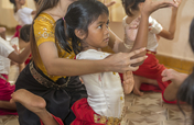 Summer Arts Camp for Orphans in Cambodia