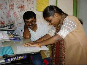Educate 50 Blind Children in Karnataka