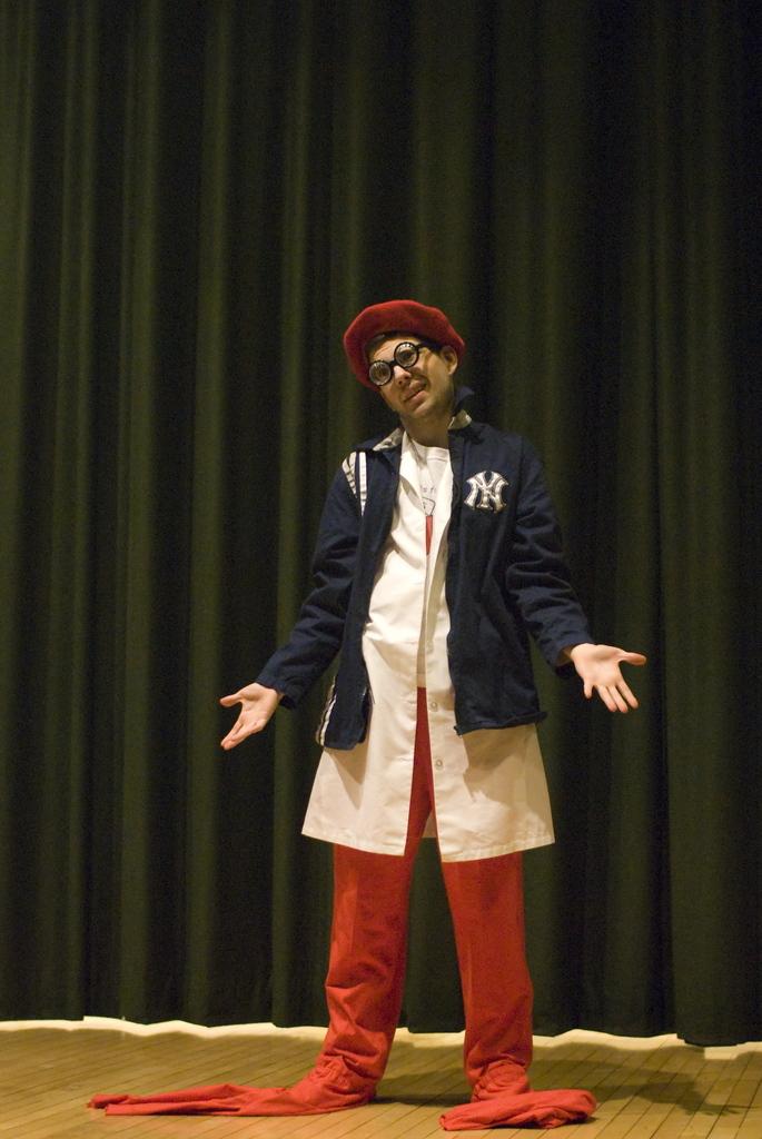 Enoch has taken his tall tales too far - Photo by Jill Steinberg
