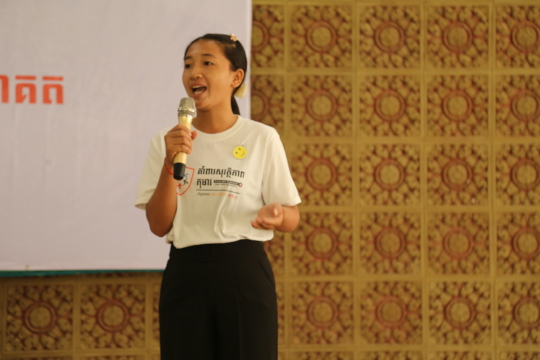 Our child volunteers advocated for better child pr