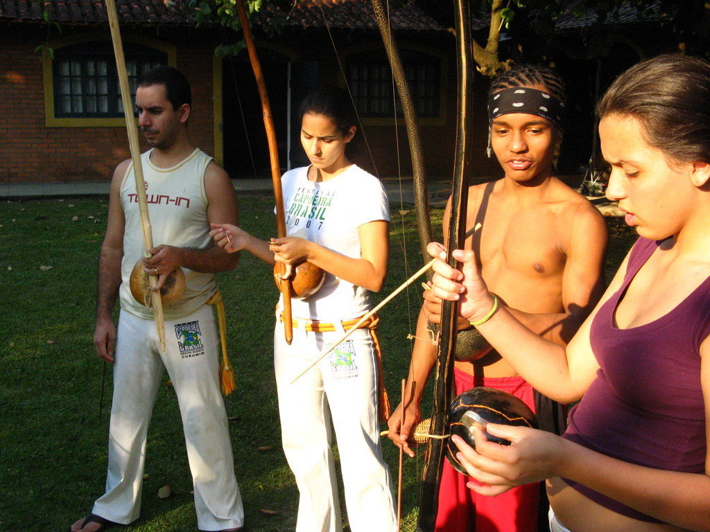 At-Risk Youth Develop Citizenship through Capoeira