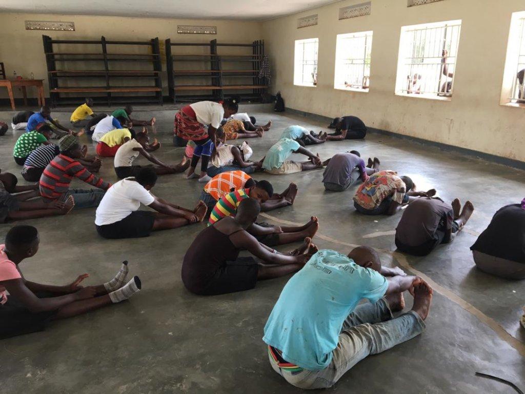 MindLeaps class at Oruchinga Refugee Settlement