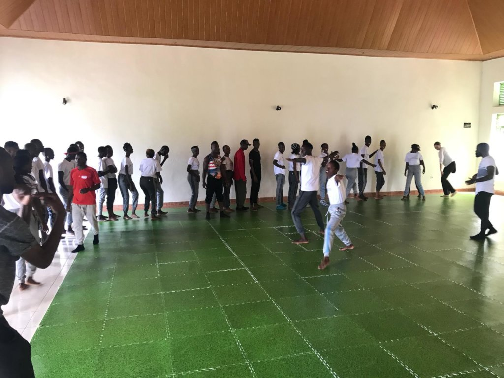 Refugee youth learn in Train The Trainer in Rwanda