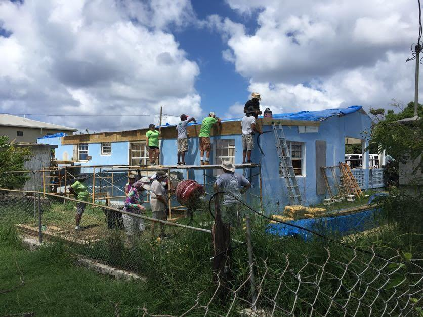 St. Croix Long Term Recovery Group volunteers
