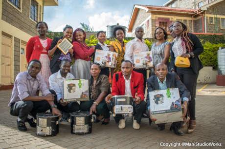 Powering youth energy changemakers in Kenyan slums