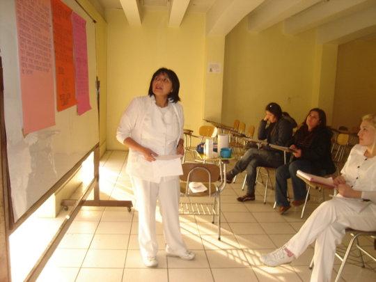 Josefina teaching group