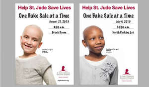 Fundraisers at Work Help St. Jude Save Lives
