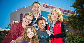 The Meredith family found hope at St. Jude
