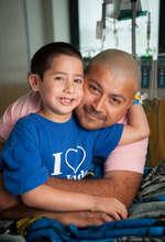 St. Jude Patient, Tristen with Dad