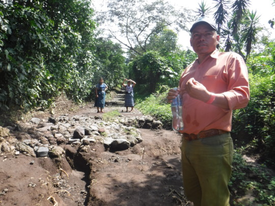 Representative describes river of ash on croplands