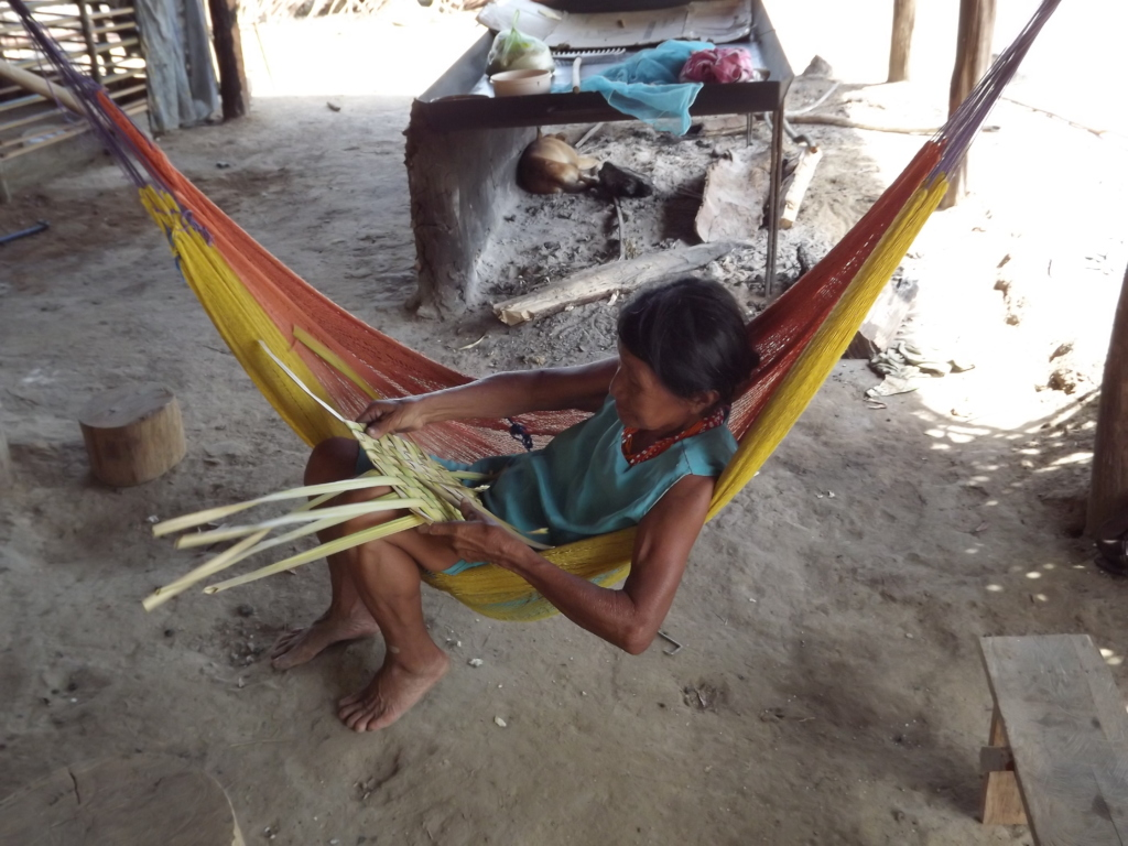 Hammocks serve many purposes in Betania de Topocho