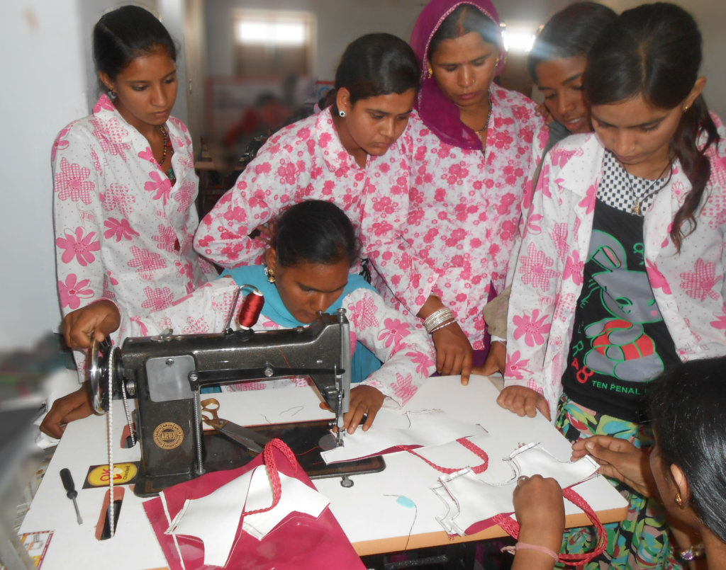 Provide Self-Employment to 150 Marginalized Girls