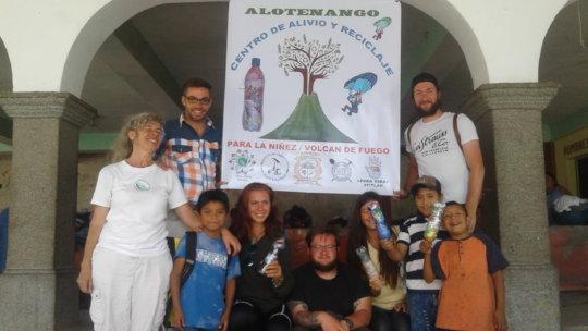 Team of different non profit organisations