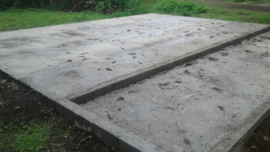 Ground ready to start building