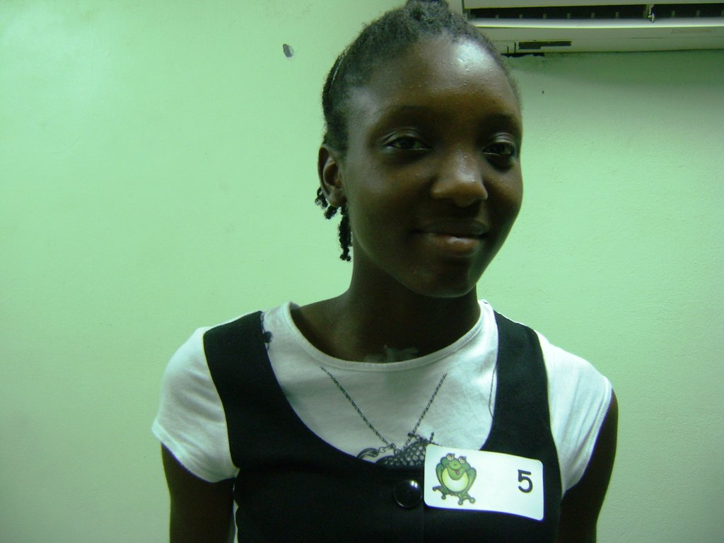 16-year-old Zhane, scoliosis patient